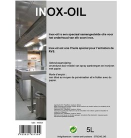 Inox Cleaner Olie 750ml SPRAY