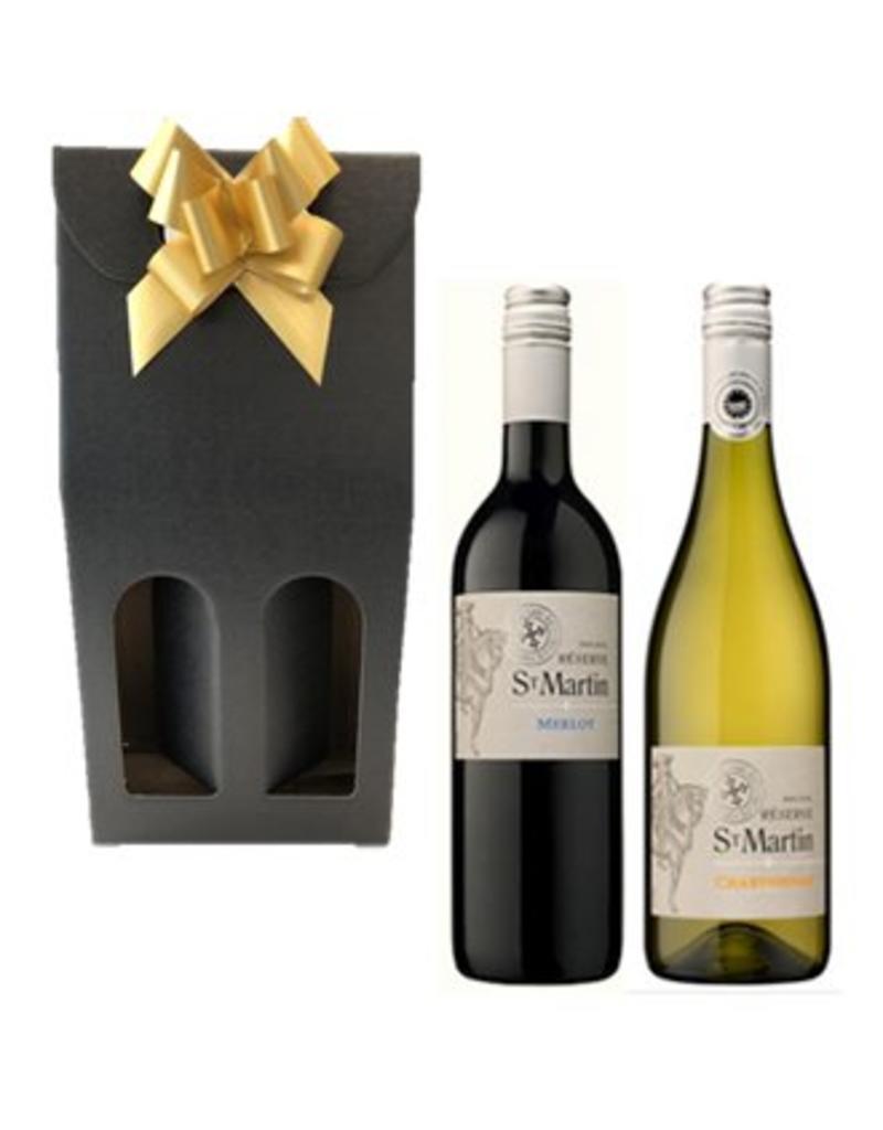 Wijnpakket Chardonnay & Merlot