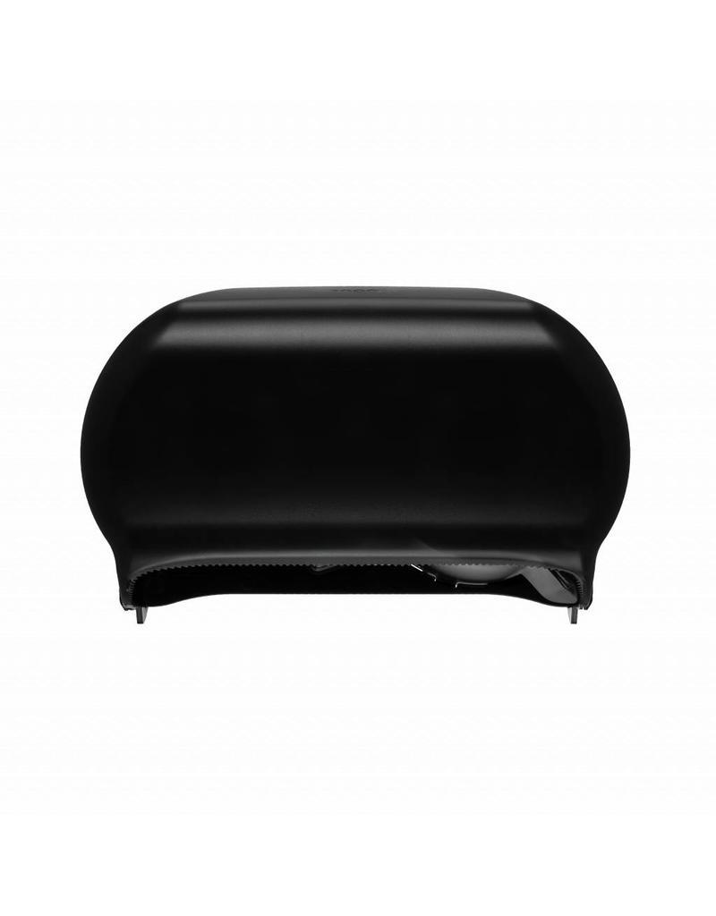 Dispenser voor coreless toiletpapier zwart