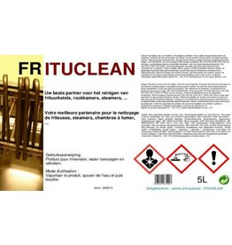Friteuse Frituurketel reiniger Frituclean