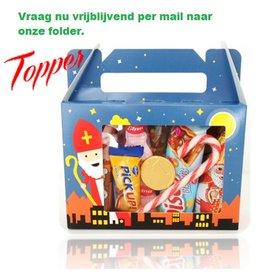 Sinterklaas Snoepdoos - Venster box