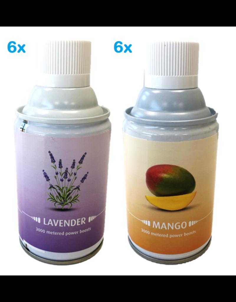 Mix Lavendel & Mango luchtverfrisser 12x243ml
