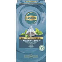 Lipton English Breakfast Exclusive Selection 25st.