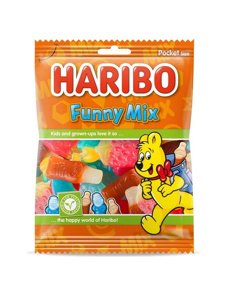 Haribo funny-mix 75g x 28st.