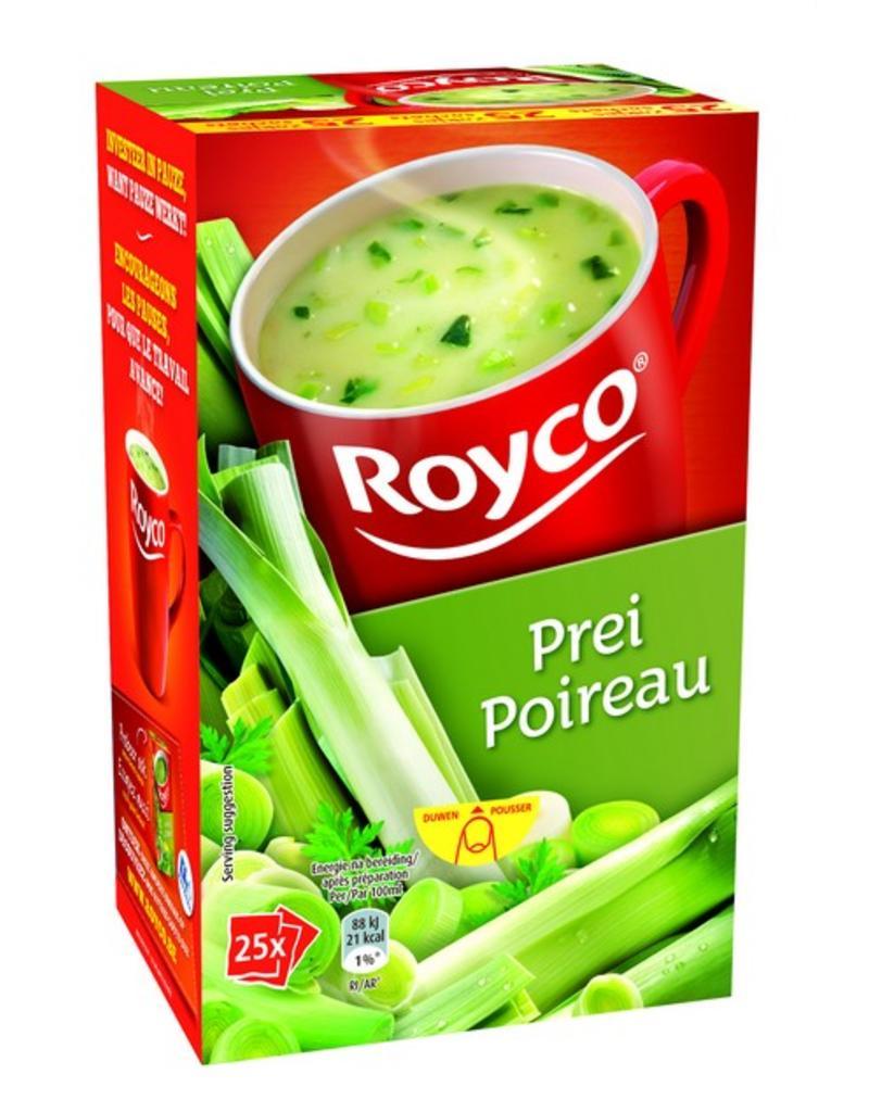 Royco Minute Soep Prei Classic 25st.