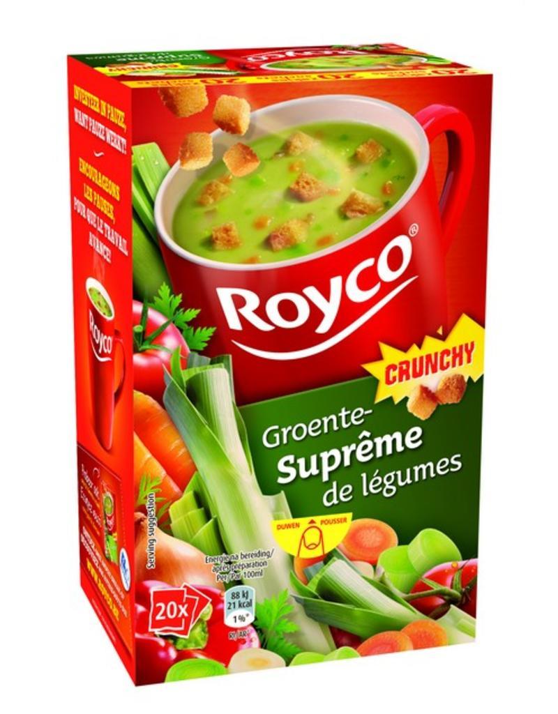 Royco Groentesuprême Crunchy 20st.