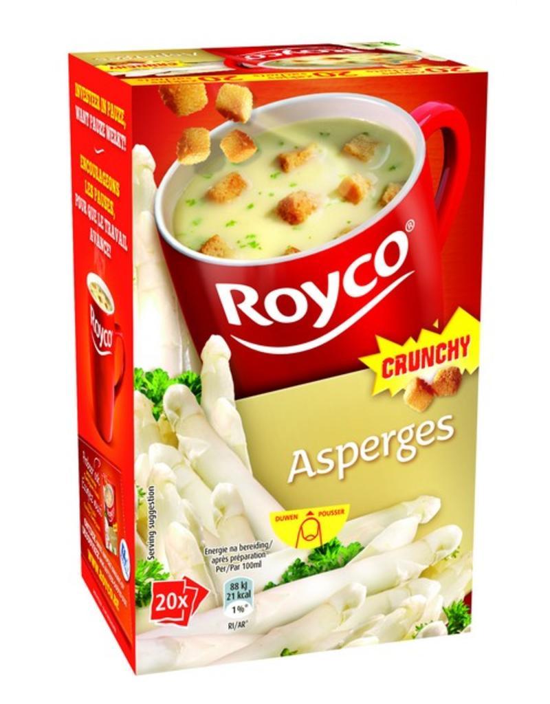 Royco Minute Soup Asperges Crunchy 20st.