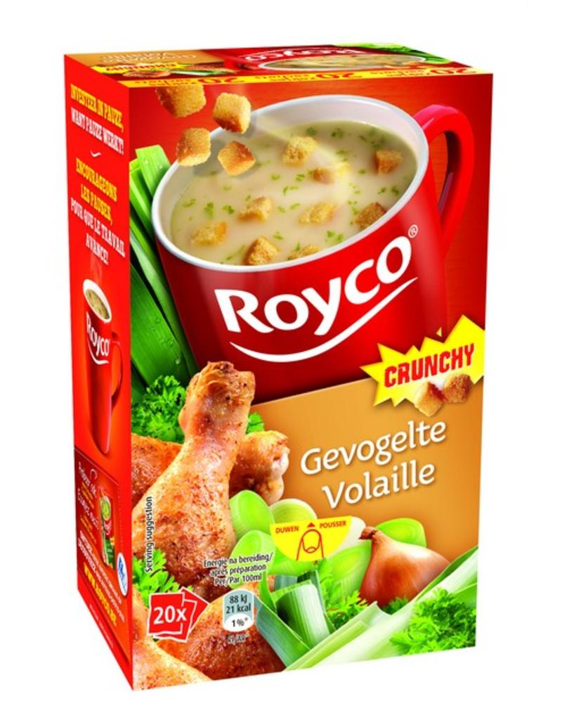 Royco Gevogelte Crunchy 20st.