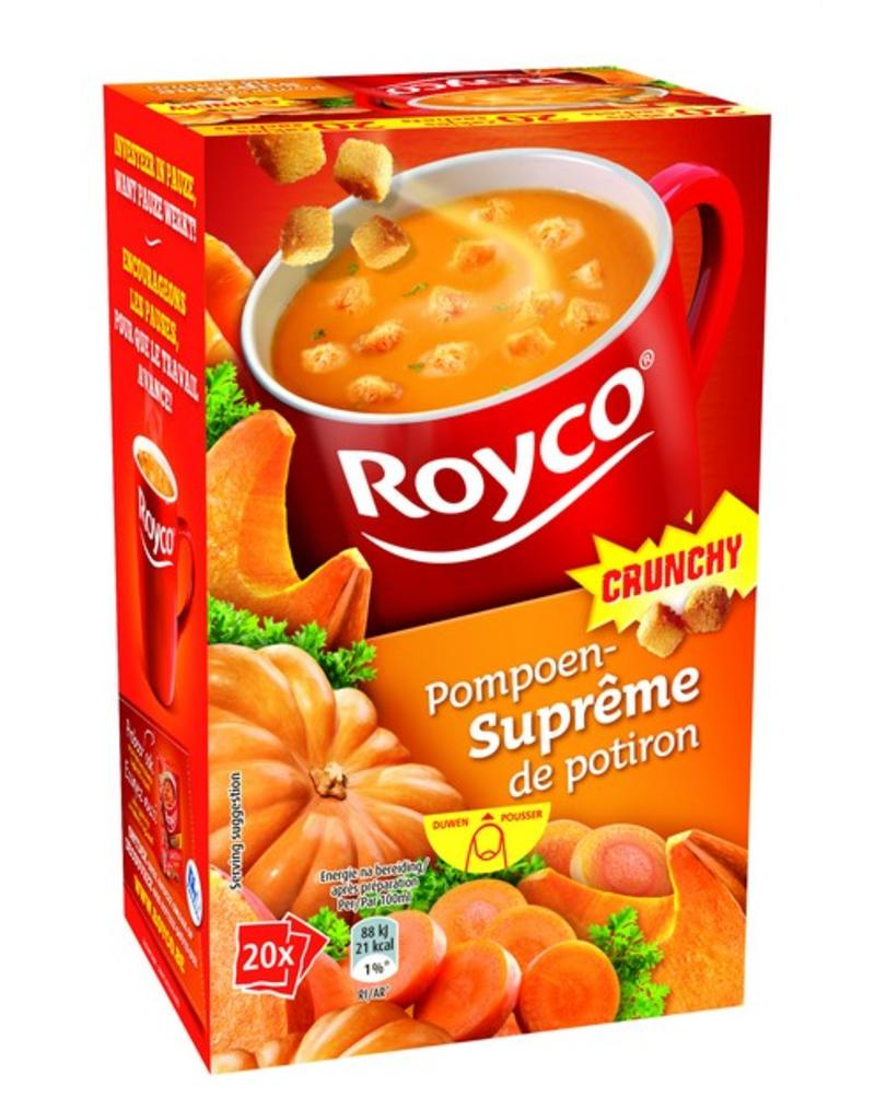Royco Minute Soup Pompoensuprême Crunchy 20st.