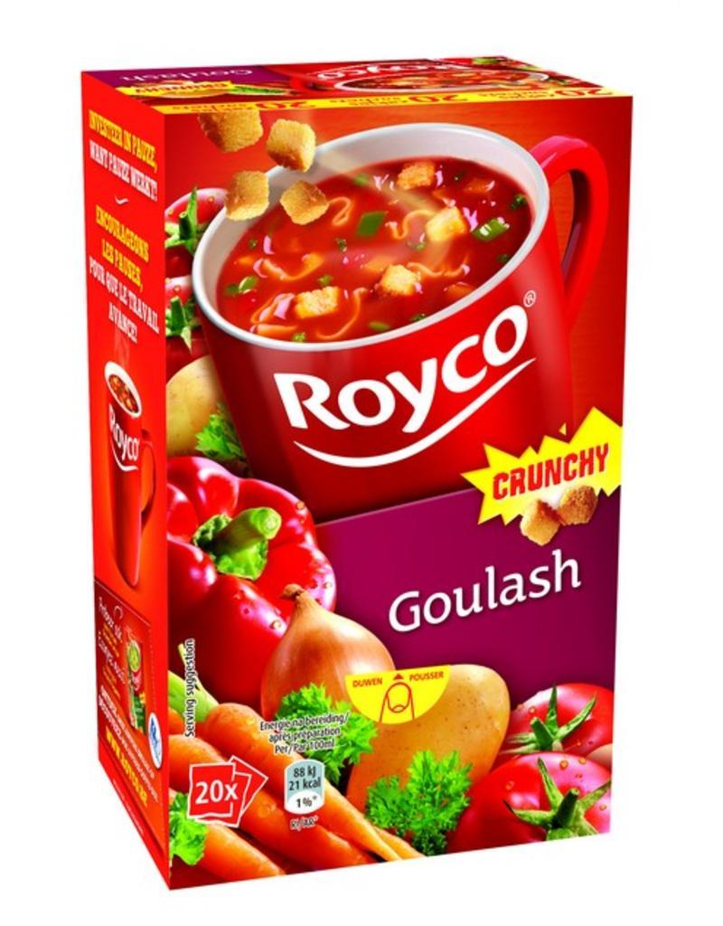 Royco Minute Soup Goulash Crunchy 20st.