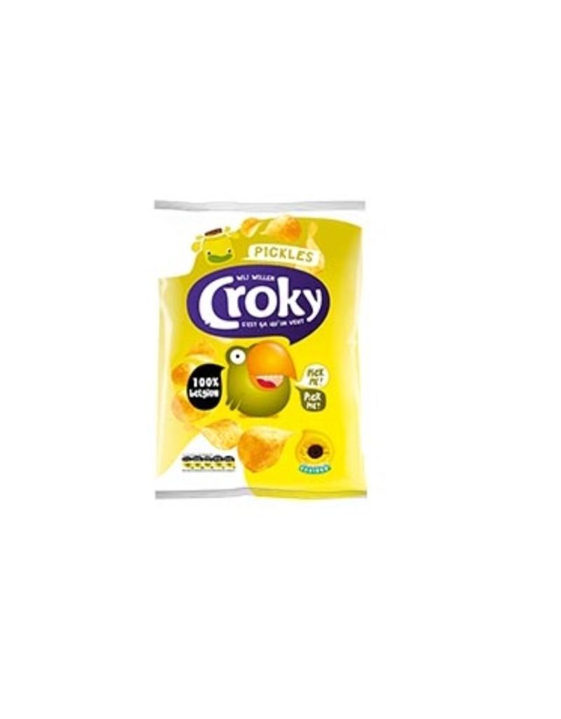 Croky Chips Pickles 40g x 20st.