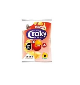Croky Chips Zout 40g x 20st.