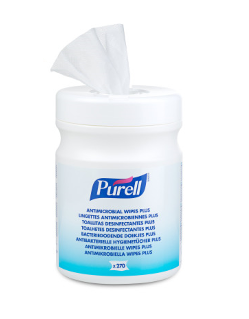Purell bacteriedodende doekjes 270st.