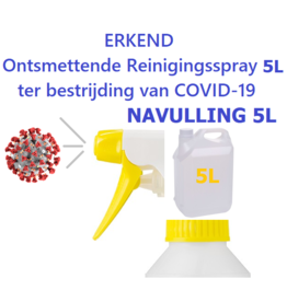 Ontsmetter Navulling BUS 5L (zonder spray)