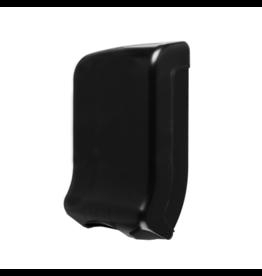 Papieren handdoekjes dispenser zwart