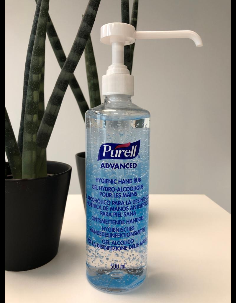 Purell 500ml Alcoholgel pomp