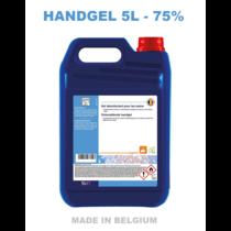 Alcoholgel 5L 75% (Nieuw = ingedikte versie)