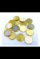 Gouden Chocolade munten 1kg