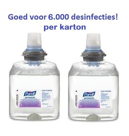 Purell advanced TFX hand sanitising Foam 2x1200ml