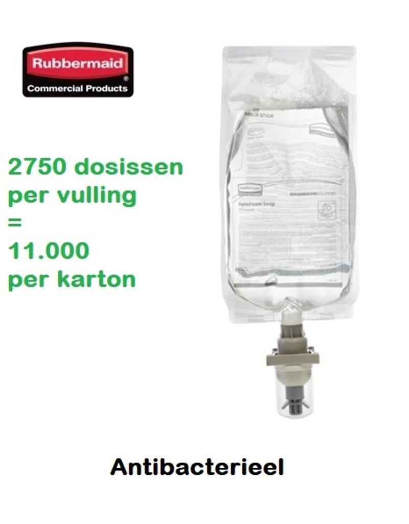 Rubbermaid Antibacteriële schuimzeep 4 x 1100 ml