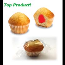 Mini Muffin Aardbei