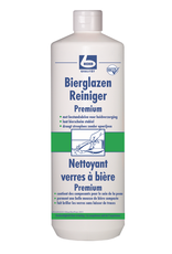 Becher bierglazen reiniger Premium met handbescherming  1L