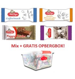 Anna Faggio Top 4 MIX + GRATIS Opbergbox