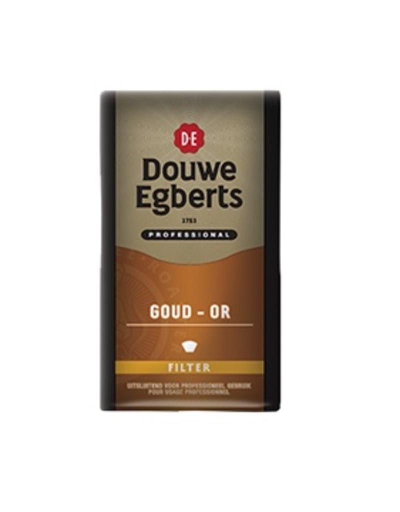 Douwe Egberts Professional Goud Or 12x500g