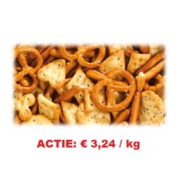 Zoutkoekjes Mix 4kg