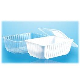 Plastic deksel 1000cc rechthoekig