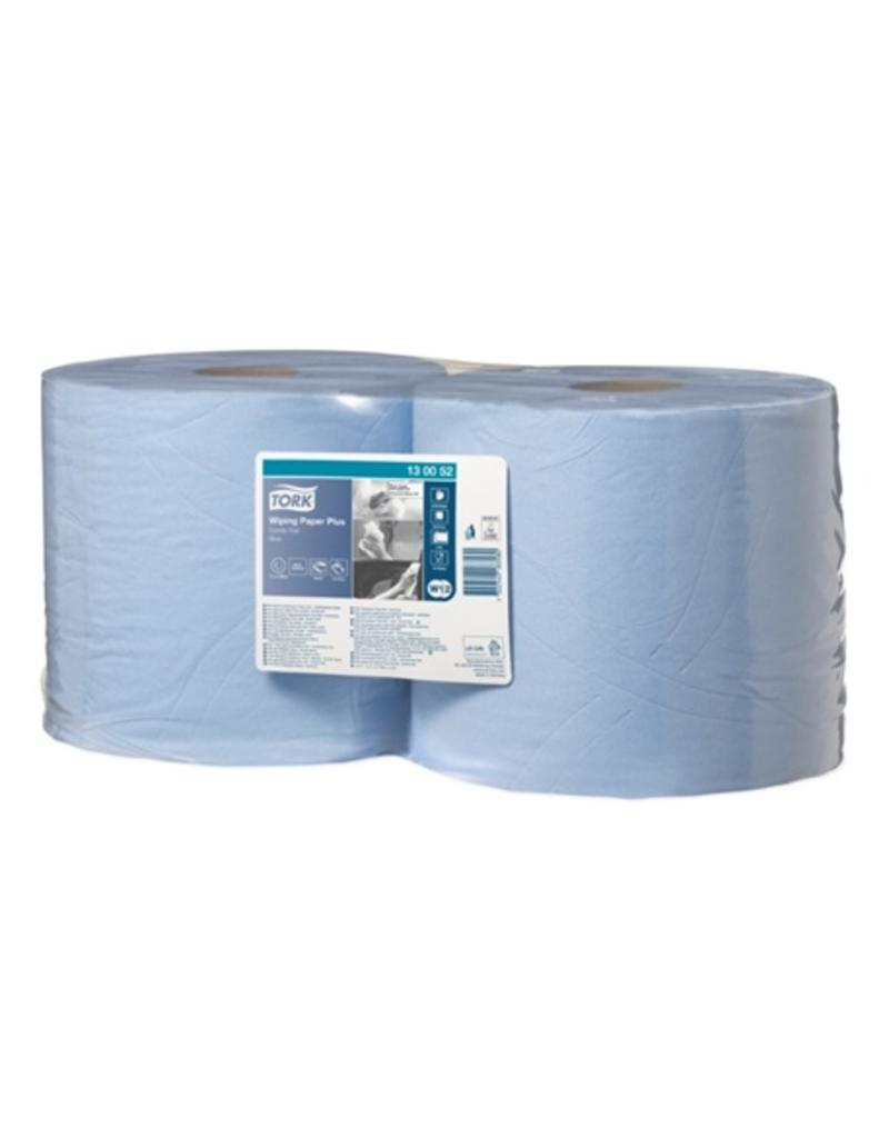 Tork Wiping Paper Plus Combi Roll Blue 130052