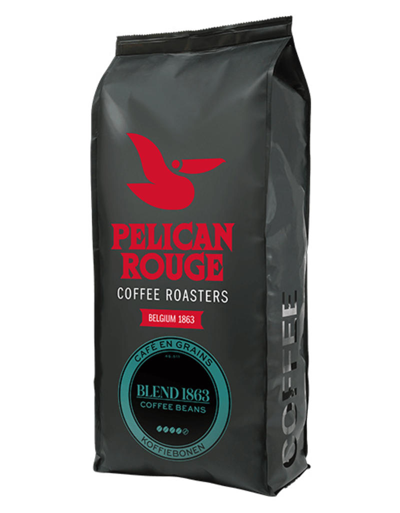 Roode Pelikaan Blend 1863 koffiebonen 1kg | Pelican Rouge
