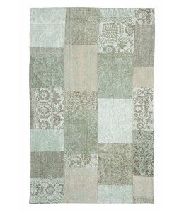 Trinity Creations Patchwork Washed Turquoise