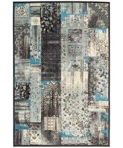 Farashe 100 07 blauw 160 x 230 cm