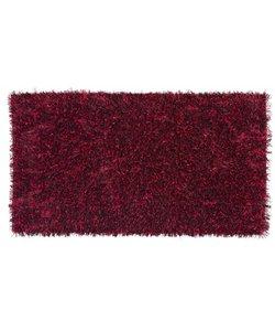 Cuarzo 10 zwart/rood 160 x 230 cm