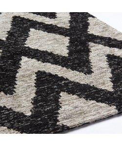 Geometrics Rombu beige/black