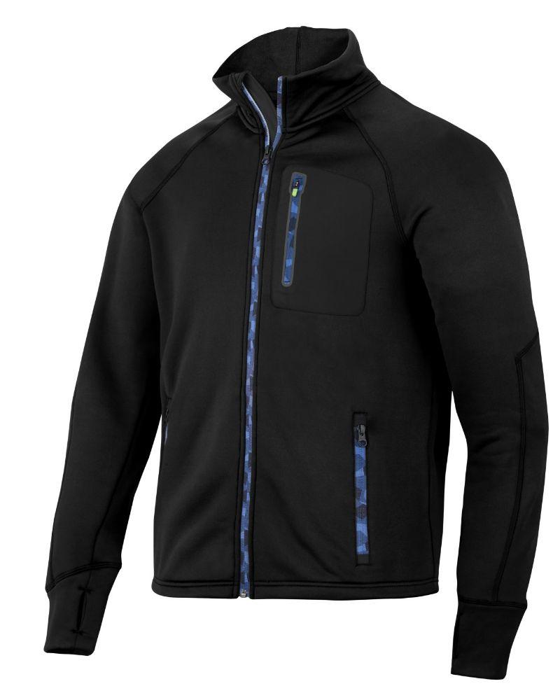 02294d07 Snickers Workwear 8001 FlexiWork, Stretch Fleece Jack