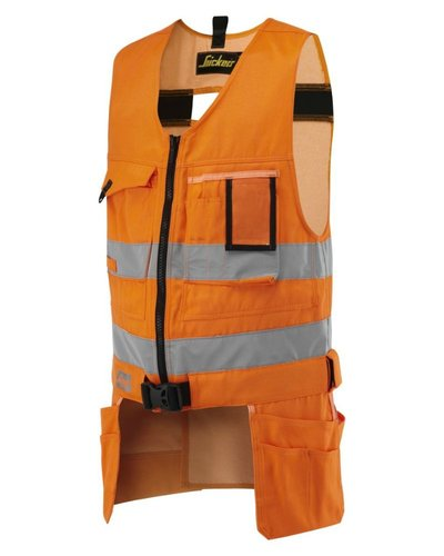 Snickers Workwear 4233 Toolvest High Visibility, Klasse 2