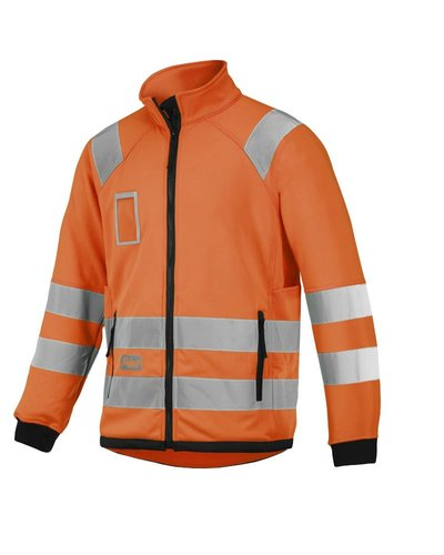 Snickers Workwear 8063 High Visibility Micro Fleece Jack, Klasse 3