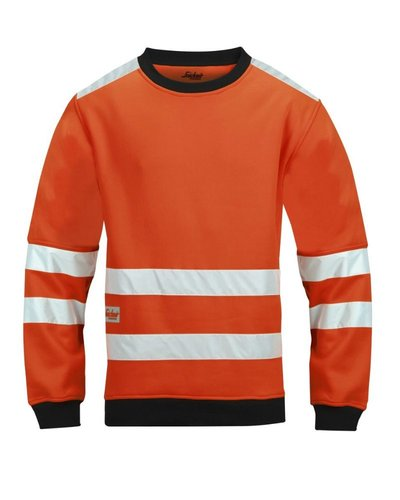 Snickers Workwear 8053 Micro Fleece Sweater High Visibility, Klasse 3