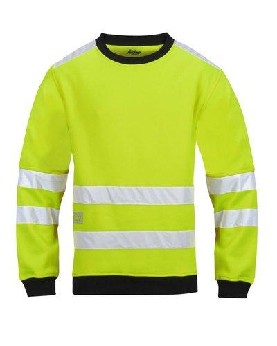Snickers Workwear 8053 Micro Fleece Sweater High Visibility, Klasse 3