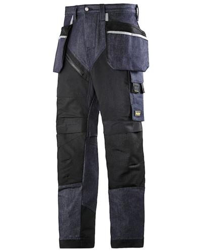 Snickers Workwear 6205 RuffWork Denim Werkbroek met holsterzakken