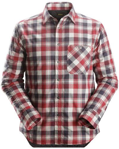 Snickers Workwear 8501 RuffWork, Geruit Gevoerd Flanellen Shirt