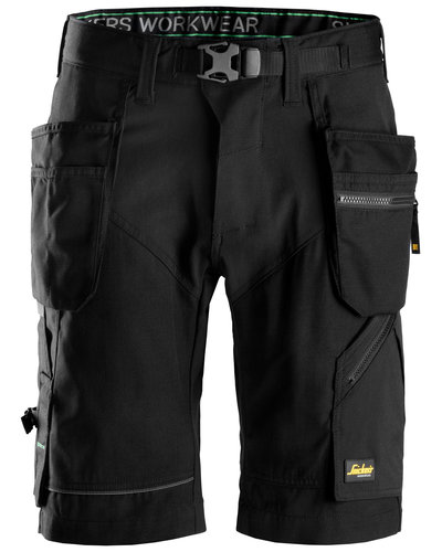 Snickers Workwear 6904 FlexiWork Korte Broek+ met holsterzakken