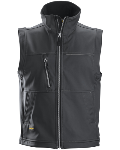 Snickers Workwear Profiling 4511 Soft Shell Vest van Snickers