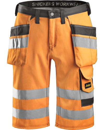 Snickers Workwear 3033 Short High Visibility, Klasse 1
