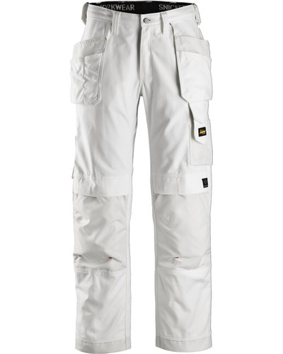 Snickers Workwear 3214 B Canvas+ Broek