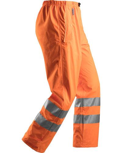 Snickers Workwear Regenbroek PU 8243 High Vis Klasse 2 van Snickers Workwear