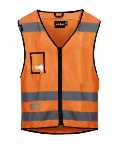 Snickers Workwear 9153 Vest High Visibility Klasse 2