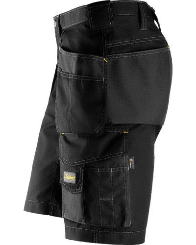 Snickers Workwear Loose Fit Stretch Korte Broek met Holsterzakken 6151 AllroundWork